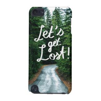 Coque iPod Touch 5G Obtenons perdus ! Citez la forêt verte de