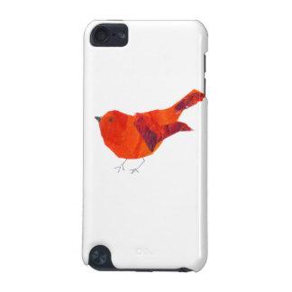 Coque iPod Touch 5G Oiseau rouge mignon