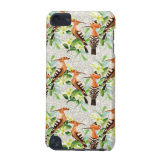 Coque iPod Touch 5G Oiseaux exotiques sur la dentelle