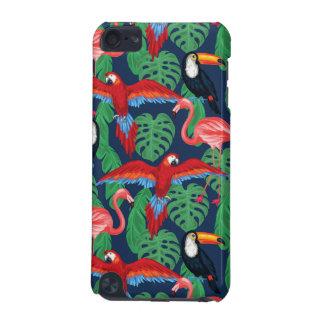 Coque iPod Touch 5G Oiseaux tropicaux dans des couleurs lumineuses