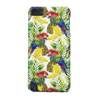 Coque iPod Touch 5G Perroquets et fruit tropical