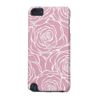 Coque iPod Touch 5G Pivoines, floral, blanches, rose, motif, girly,