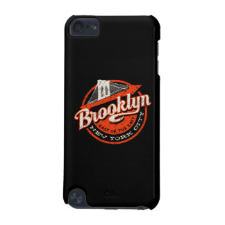 Coque iPod Touch 5G Rétro typographie de Brooklyn New York City |