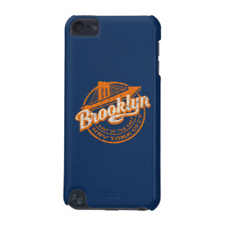 Coque iPod Touch 5G Rétro typographie vintage de Brooklyn, New York |