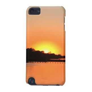 Coque iPod Touch 5G Rivière de coucher du soleil