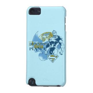 Coque iPod Touch 5G Superman | défendant la planète