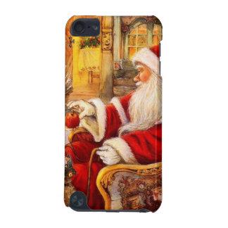 Coque iPod Touch 5G Traîneau de Père Noël - illustration du père noël