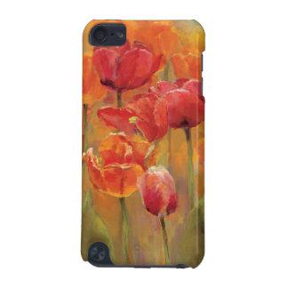 Coque iPod Touch 5G Tulipes au milieu
