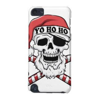 Coque iPod Touch 5G Yo ho ho - pirate père Noël - le père noël drôle