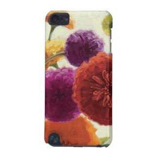 Coque iPod Touch 5G Zinnias purs de palette
