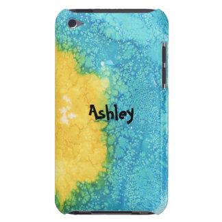 Coque iPod Touch Case-Mate Aquarelle bleue/jaune