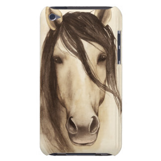 Coque iPod Touch Case-Mate Cheval des animaux | de grange d'aquarelle