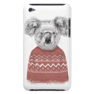 Coque iPod Touch Case-Mate Koala d'hiver (rouge)