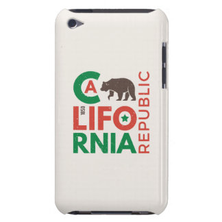 Coque iPod Touch Case-Mate La Californie avec le logo d'ours gris