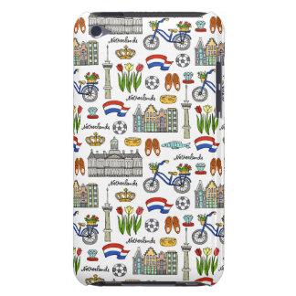 Coque iPod Touch Case-Mate Motif de griffonnage de Netherland
