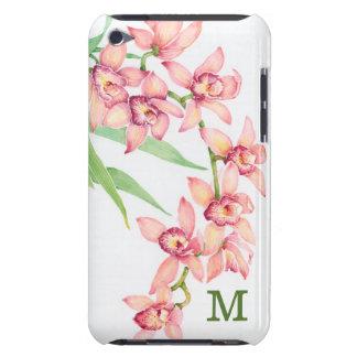 Coque iPod Touch Fleurs roses d'aquarelle