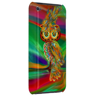 Coque iPod Touch Hibou tropical de la Reine de mode