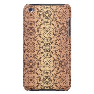 Coque iPod Touch Motif antique royal de luxe floral