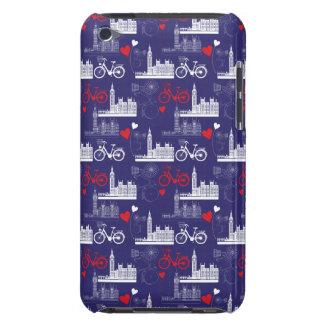 Coque iPod Touch Motif de points de repère de Londres
