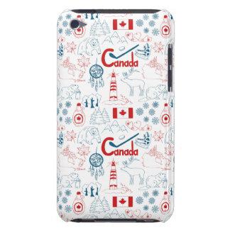 Coque iPod Touch Motif de symboles du Canada |