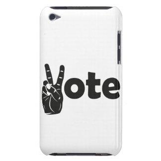 Coque iPod Touch Vote d'illustration pour la paix