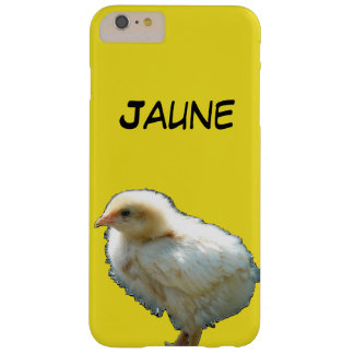 coque jaune poussin coque iPhone 6 plus barely there