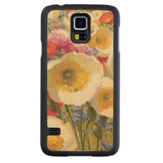 Coque Mince En Érable Galaxy S5 Abondance ensoleillée