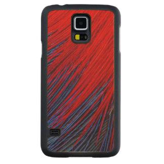 Coque Mince En Érable Galaxy S5 Abrégé sur plume de Toucanet