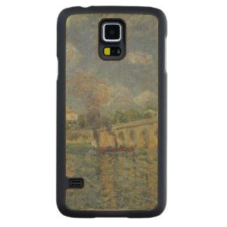 Coque Mince En Érable Galaxy S5 Alfred Sisley | le pont