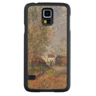 Coque Mince En Érable Galaxy S5 Alfred Sisley | un coin des bois chez Sablons