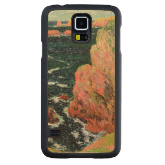Coque Mince En Érable Galaxy S5 Belle Ile de Claude Monet |
