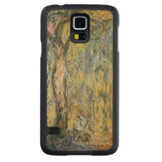 Coque Mince En Érable Galaxy S5 Claude Monet | le grand saule chez Giverny, 1918