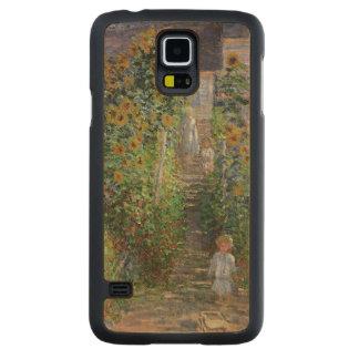 Coque Mince En Érable Galaxy S5 Claude Monet | le jardin de l'artiste chez