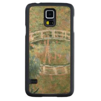 Coque Mince En Érable Galaxy S5 Claude Monet | le pont japonais, Giverny