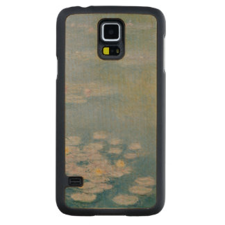 Coque Mince En Érable Galaxy S5 Claude Monet | Nympheas chez Giverny, 1908