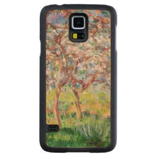 Coque Mince En Érable Galaxy S5 Claude Monet | Printemps un Giverny