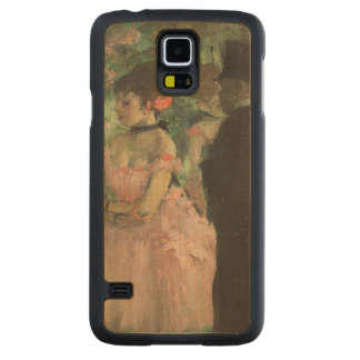 Coque Mince En Érable Galaxy S5 Danseurs d'Edgar Degas   à l'arrière plan,