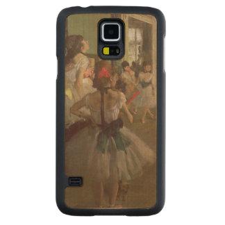 Coque Mince En Érable Galaxy S5 Edgar Degas   la classe de danse, c.1873-76