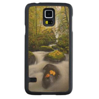 Coque Mince En Érable Galaxy S5 Gorge de l'érable | Colombie de Bigleaf de crique