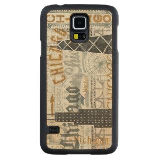 Coque Mince En Érable Galaxy S5 Hé cru de Chicago