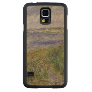 Coque Mince En Érable Galaxy S5 Pierre banques de Renoir un | de la Seine,