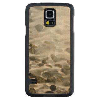 Coque Mince En Érable Galaxy S5 Réservation en pierre d'état de Lobos de point de