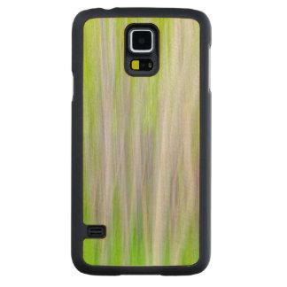 Coque Mince En Érable Galaxy S5 Résumé de la traînée de rivière des arbres |