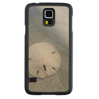 Coque Mince En Érable Galaxy S5 Sanddollar sur l'île de la plage | Sanibel, la