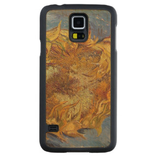 Coque Mince En Érable Galaxy S5 Tournesols de Vincent van Gogh |, 1887