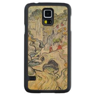 Coque Mince En Érable Galaxy S5 Vincent van Gogh | le ravin du Peyroulets