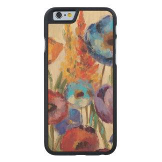 Coque Mince En Érable iPhone 6 Bouquet des fleurs