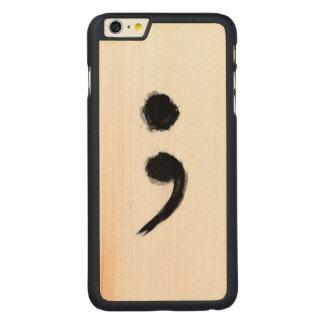 COQUE MINCE EN ÉRABLE iPhone 6 PLUS
