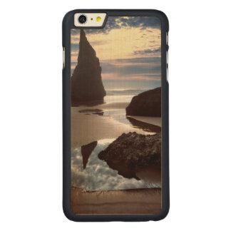 Coque Mince En Érable iPhone 6 Plus Bord de la route Épine-Formé de roche de visage du