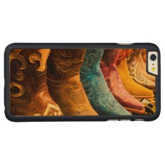 Coque Mince En Érable iPhone 6 Plus Bottes de cowboy à vendre, Arizona
